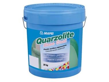 Fondo pigmentato in resine acriliche QUARZOLITE BASE COAT