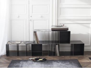 Design vinyl record storage QUATTRO VINYL