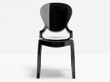 Polycarbonate chair QUEEN