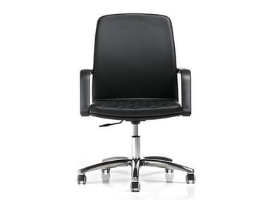 Task chair with 5-Spoke base with armrests QUEEN | Task chair