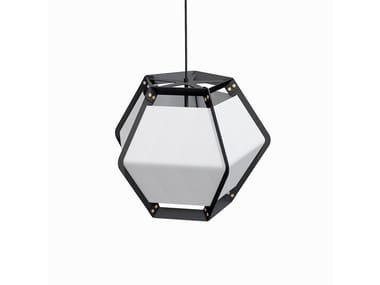 LED direct light powder coated steel pendant lamp QUINTUS | Pendant lamp