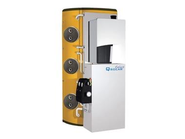 Boiler for solar heating system Qsolar Eplus
