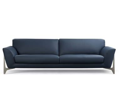 3 seater leather sofa RÉFLEXION