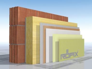 Rock wool Thermal insulation panel RÖFIX FIRESTOP 035 (OB)