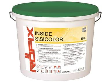 Pittura con tecnologia SiSi per interni RÖFIX INSIDE SISICOLOR