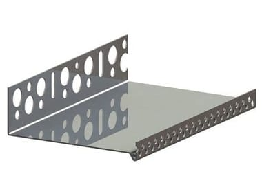 Profilo paraspigolo in alluminio RÖFIX Profilo zoccolatura a forma di U