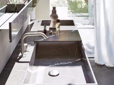 Lavabo rettangolare sospeso R1 | Lavabo sospeso