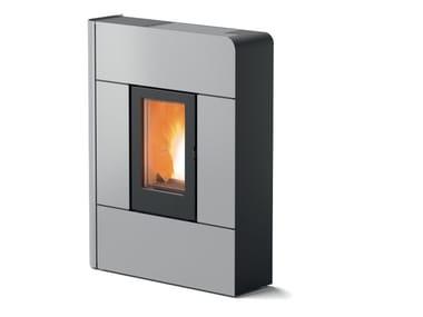Pellet steel stove RAAM