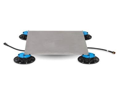 Modular system for raised flooring / Radiant floor panel RADIAFLOOR C