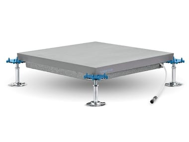 Modular system for raised flooring / Radiant floor panel RADIAFLOOR