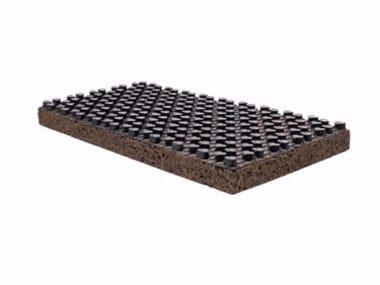Cork thermal insulation panel RADIANTCORK