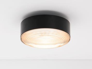 Plafoniera a LED in alluminio verniciato a polvere RADIEUX   Lampada da soffitto