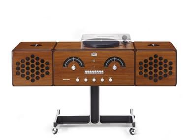 Walnut Radio RADIOFONOGRAFO RR226-O Noce Canaletto