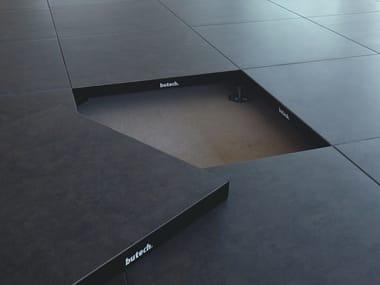 Sistema modulare per pavimento sopraelevato PTR