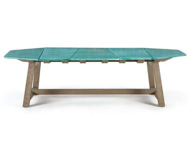 Lava stone garden table RAFAEL | Lava stone table