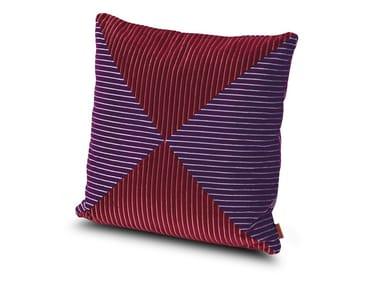 Cuscino in velluto a coste bicolore RAFAH | Cuscino