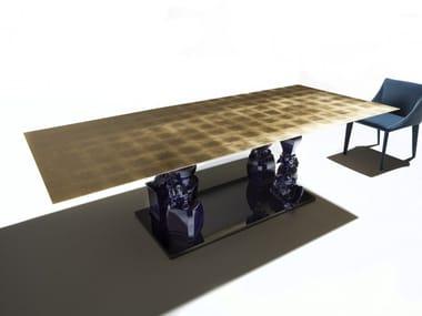 Tavolo da pranzo rettangolare RAGION PURA