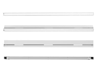 Elemento illuminante lineare LED con altoparlanti RAIL