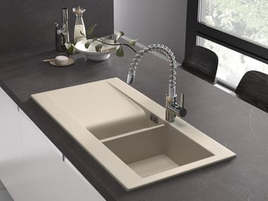 1 1/2 bowl sink with drainer RAK-DREAM