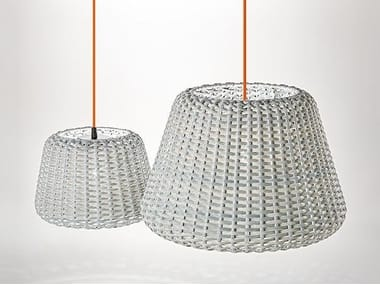 Rattan outdoor pendant lamp RALPH | Outdoor pendant lamp