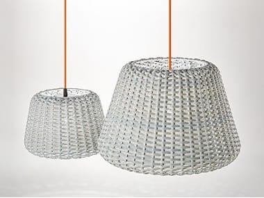 Lampada a sospensione per esterno in rattan RALPH | Lampada a sospensione per esterno