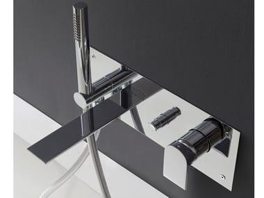 Wall-mounted bathtub mixer with hand shower RAN | Bathtub mixer