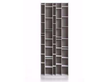 Libreria modulare in fibra di legno RANDOM 2017