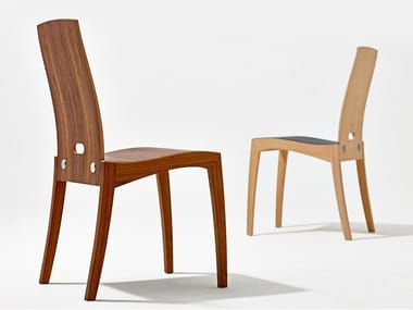Wooden chair RANK | Chair