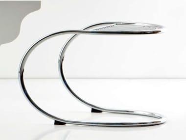 Cantilever low steel stool RAPSEL