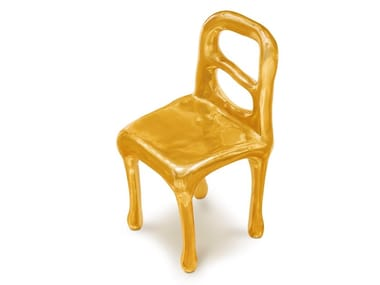 Brass chair RAPTURE