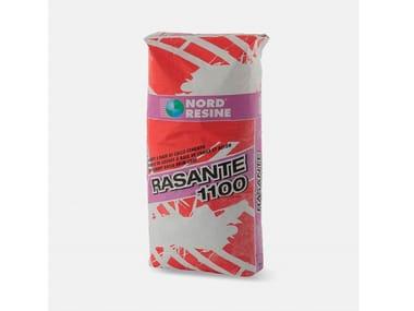 Rasante a base di calce e cemento per rasatura a civile fine RASANTE 1100