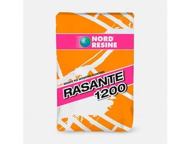 Rasante ad alto contenuto in resina RASANTE 1200