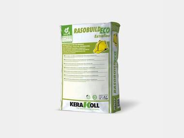 Intonachino di finitura minerale RASOBUILD® ECO EXTRAFINO BIANCO
