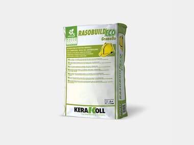 Intonachino di finitura minerale RASOBUILD® ECO GRANELLO