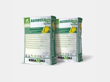 Rasante minerale eco-compatibile RASOBUILD® ECO TOP FINO