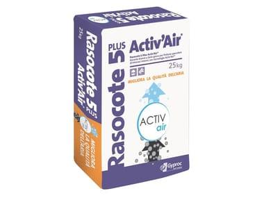 Rasante bianco a base calce e gesso RASOCOTE 5 PLUS ACTIV'AIR®