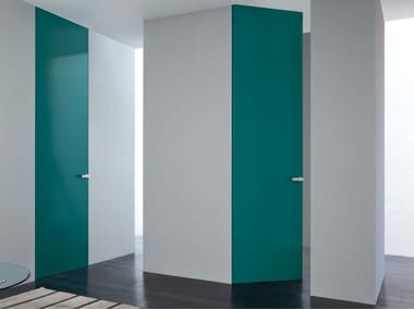 Hinged flush-fitting door with concealed hinges RASOMURO 55r