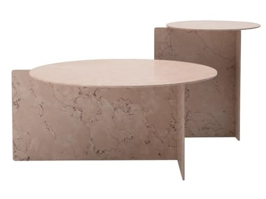 Round marble coffee table RATIO | Marble coffee table