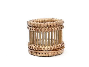 Rattan candle holder RATTAN S