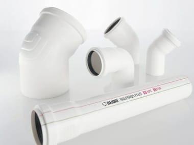 Drainage pipe RAUPIANO PLUS 17dB