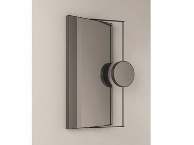 Rectangular wall-mounted bathroom mirror RAY