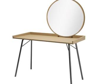 Wood veneer dressing table RAYBURN | Dressing table
