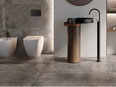 Indoor/outdoor porcelain stoneware wall/floor tiles RE_TOUR