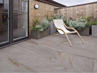 Indoor/outdoor porcelain stoneware wall/floor tiles REALSTONE QUARZITE XT20