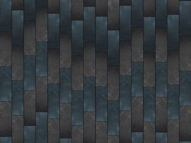 Indoor leather wall tiles REBEL