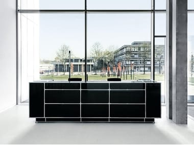 Modular glass Reception desk Reception desk