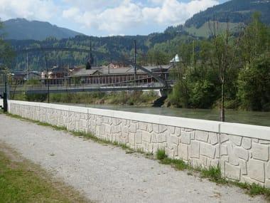 Matrix for fair faced concrete wall RECKLI® | Matrix for fair faced concrete wall