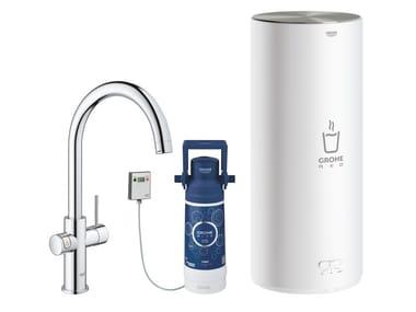Rubinetto da cucina / dispenser acqua potabile RED II 30079001 | Miscelatore da cucina