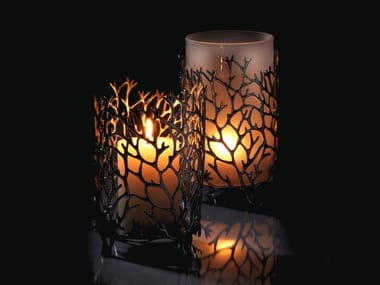 Tin candle holder REEF | Candle holder