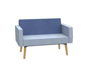 1,5-seater sofa with backrest and armrests REEFS | Armchair